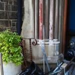 Cleaning Day ~ Homeless folks scoring scrap metal ~ 5 April 2014 (1) (427x640)