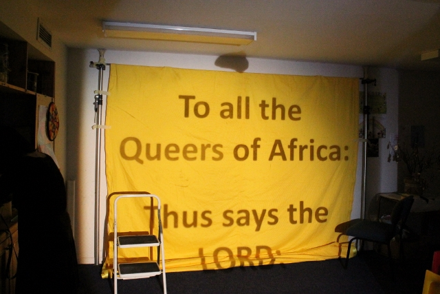 Queer Banner ~ Lulu doing outlines ~ 8 April 2014 (3) (640x427).jpg
