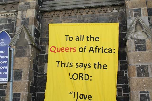 Queer Banner ~ Raising the banner with friends of David Olyn ~ 15 April 2014 (6) (640x427).jpg