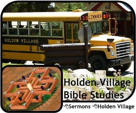 Holden Village Bible Studies July 2012